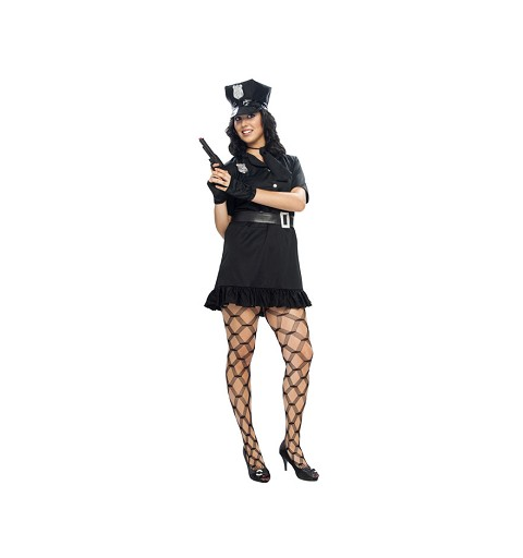 Disfraz de Policia Negro...