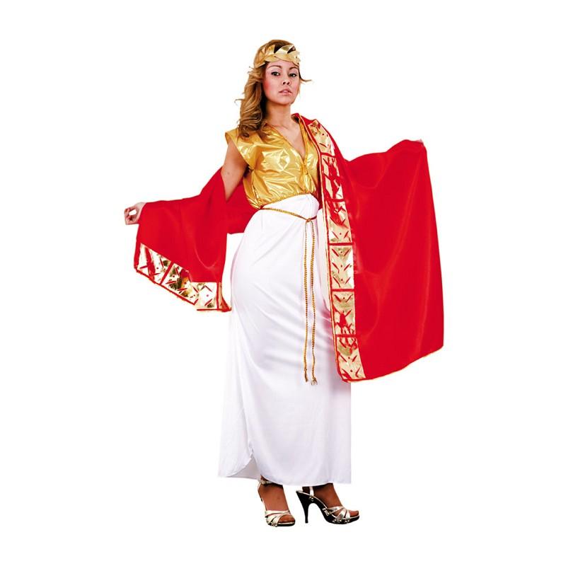 d98ef5befad Disfraz de Emperatriz Romana con Manto para Mujer - MiDisfraz