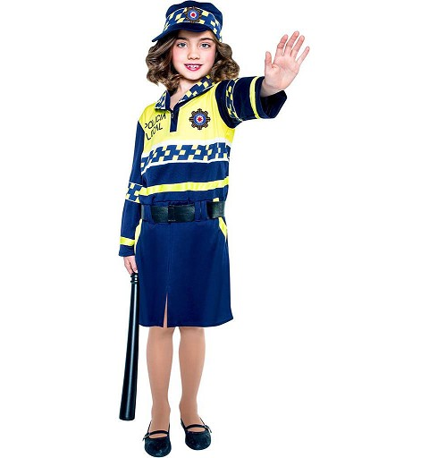 Disfraz Policia Local Niña...