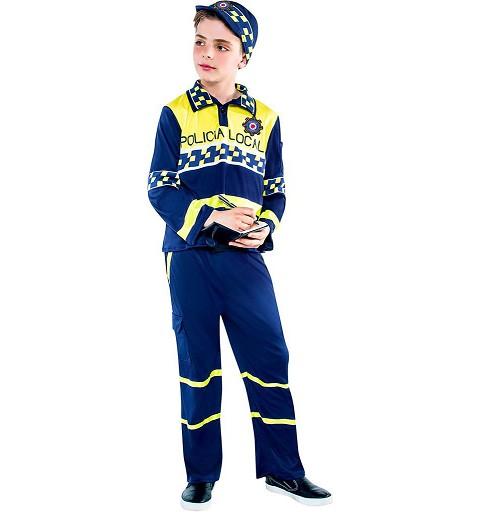 Disfraz Policia Local Niño...