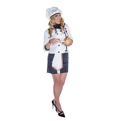 Disfraz de Cheff para Mujer