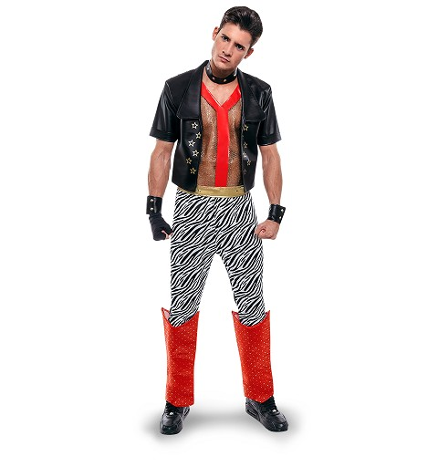 Disfraz Punky Adulto Hombre