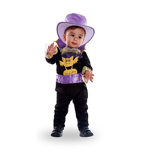 Disfraz Vampiro Morado Bebe