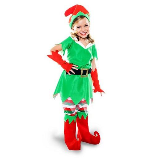 Disfraz de Elfa Navideña...