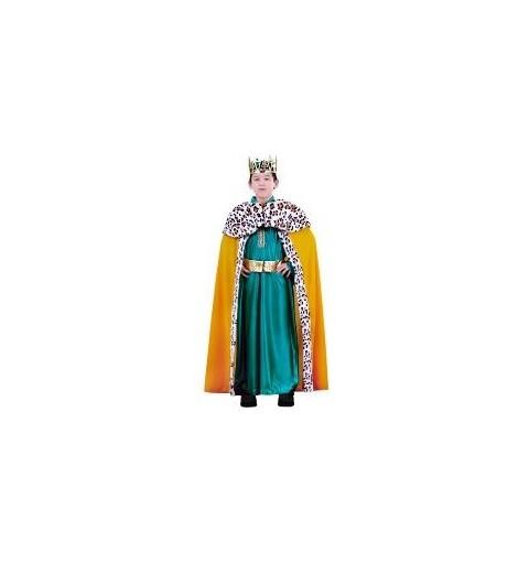 Disfraz Rey Mago Lujo Verde...