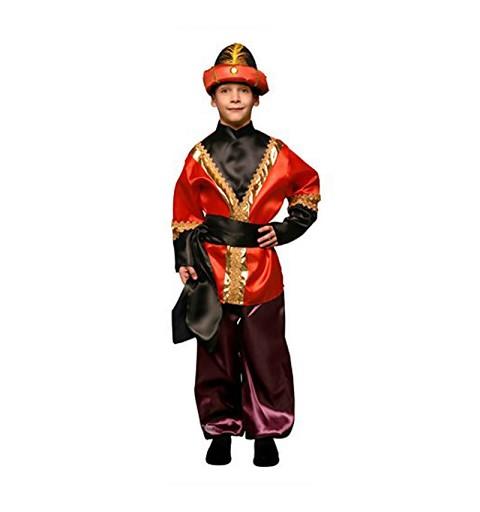 Disfraz de Paje Rojo para Niño