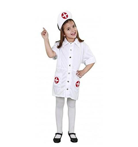 Disfraz Enfermera Cruz Niña...