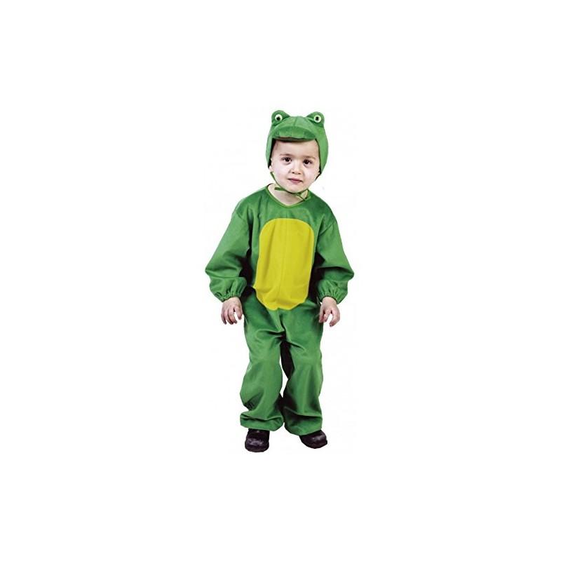 2e47b8a75 Disfraz de Rana Verde con Capucha para Niño de 8 años - MiDisfraz