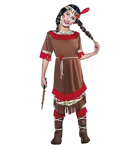 Disfraz de India Roja para...