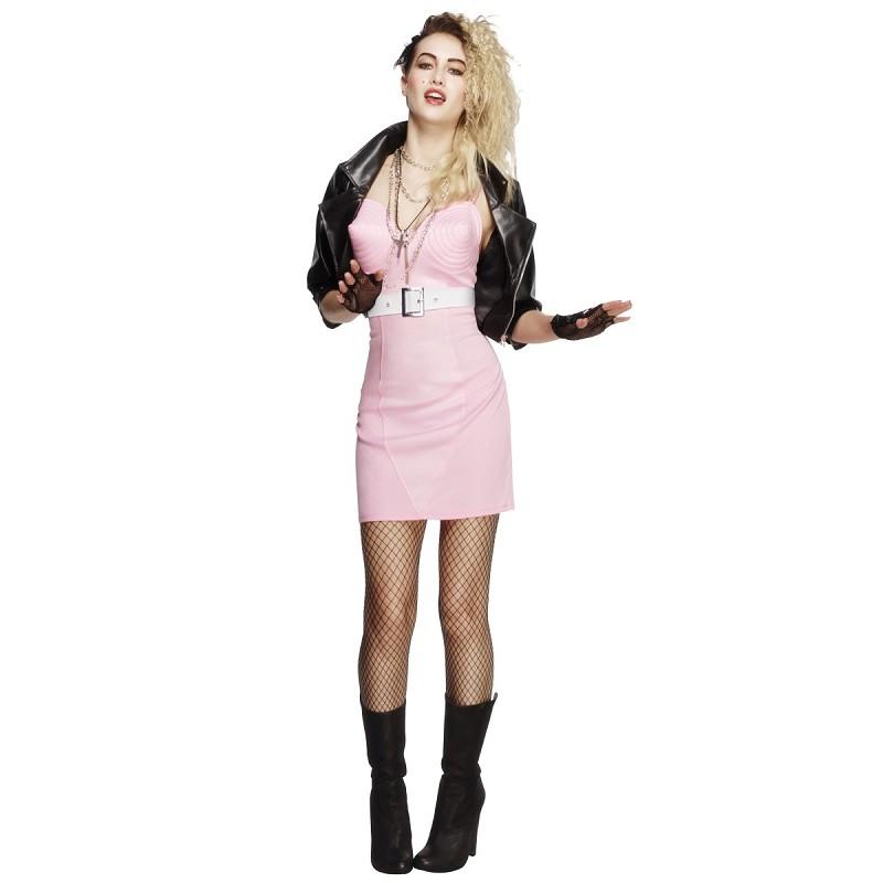97aace248 Disfraz de Diva de los 80 con Chaqueta para Mujer - MiDisfraz