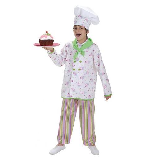 Disfraz de Pastelero para Niño