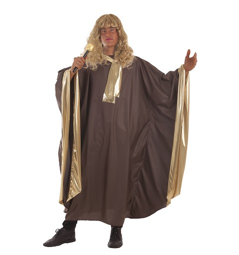 Disfraz Gospel Oro Adulto
