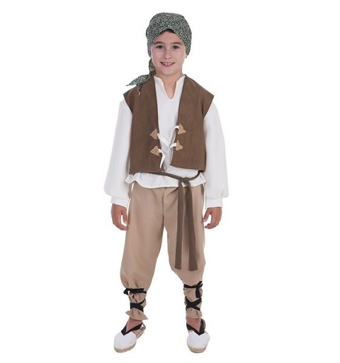 Disfraz Campesino Mario Infantil