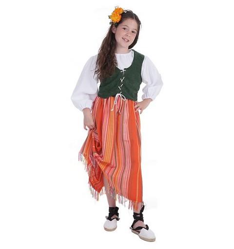 Disfraz Bodeguera Infantil