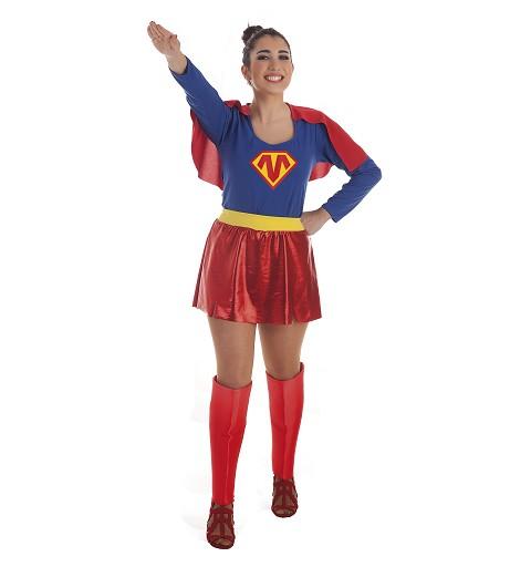 Disfraz Super Heroina Mujer