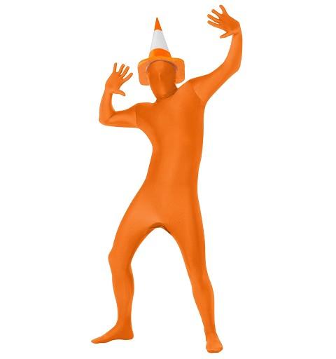 Disfraz Mono Naranja...