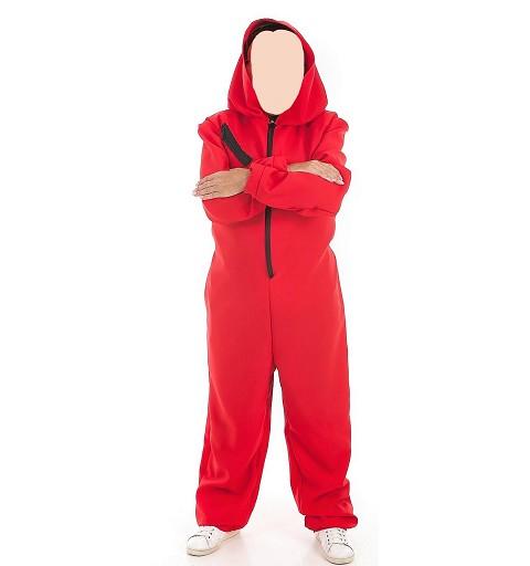 Disfraz Mono Rojo para Adulto