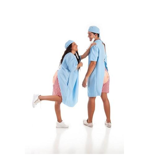 Disfraz Enfermo Hospital Adulto