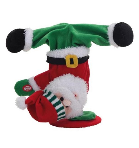 Papa Noel Rap 35 cm. REGALO BLACK FRIDAY