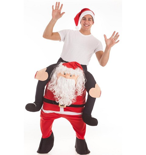 Disfraz Papa Noel A Hombros