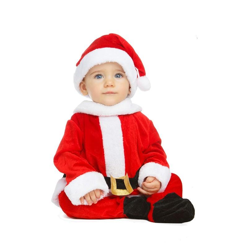1be2be709 Disfraz Rojo de Papá Noel con Cinturón para Niño - MiDisfraz