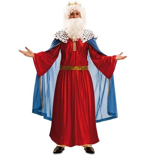 Disfraz Rey Mago Rojo Hombre