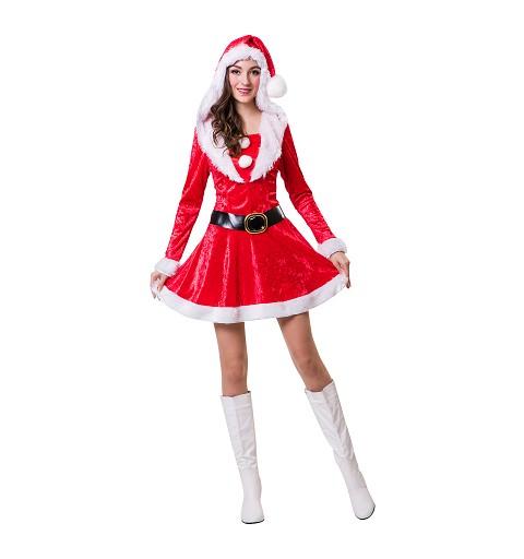 Disfraz de  Mama Noel...