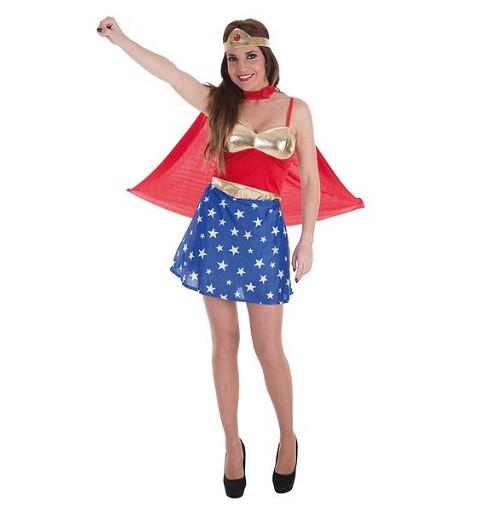 Disfraz Supermujer Adulto