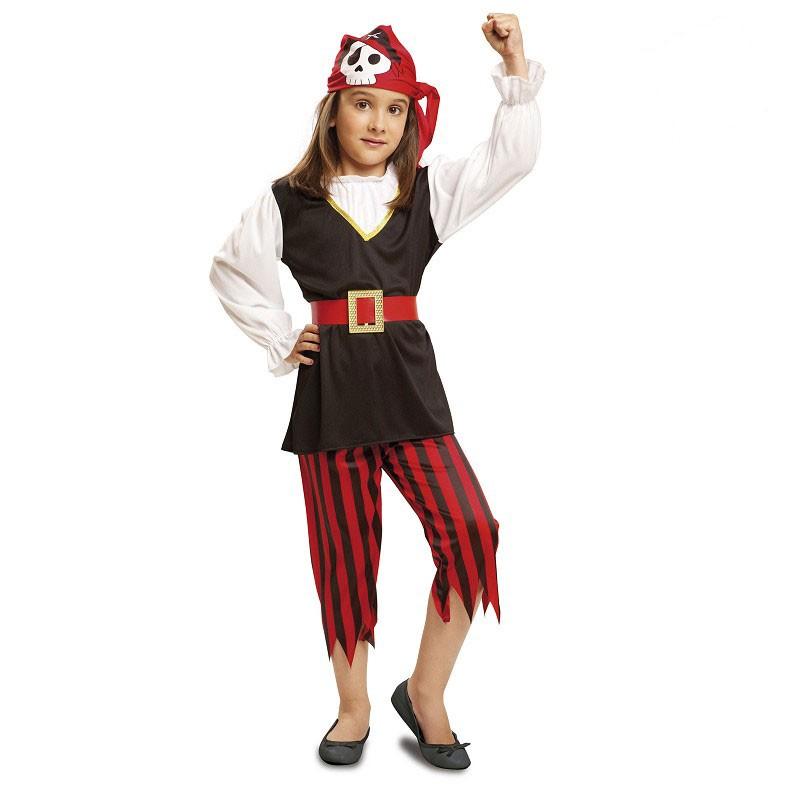 Disfraz Pirata Calavera Infantil Midisfraz