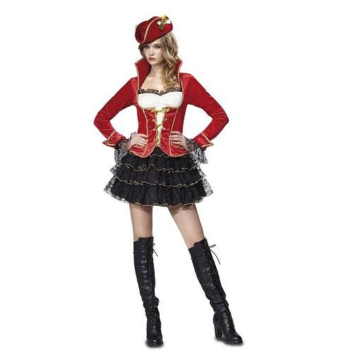 Disfraz Pirata De Lujo Adulto