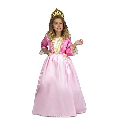 Disfraz Princesa Infantil Rosa