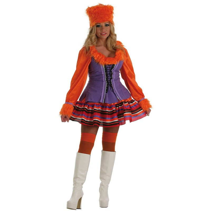 disfraz mujer rusa