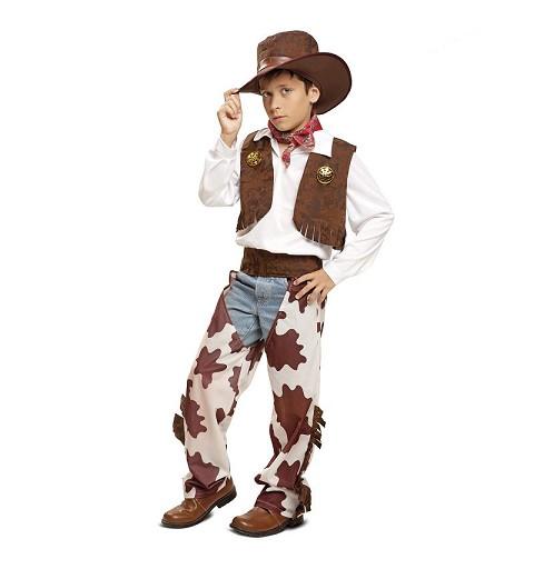 Disfraz Vaquero Blanco Y...