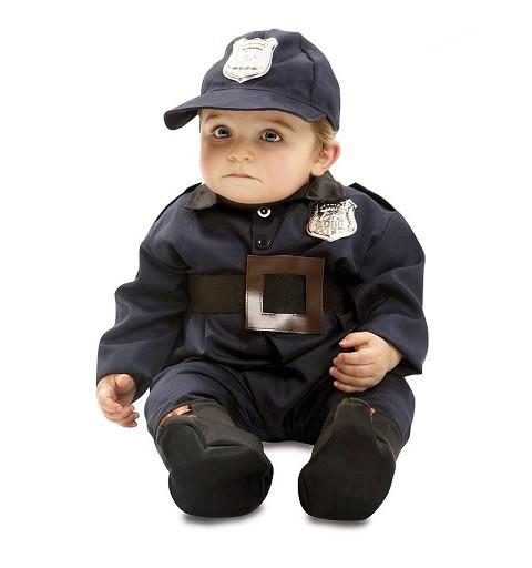 Disfraz Policía Bebe