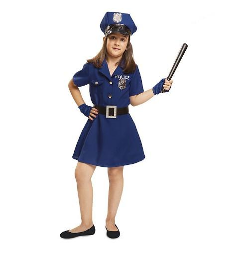 Disfraz Policía Infantil Niña