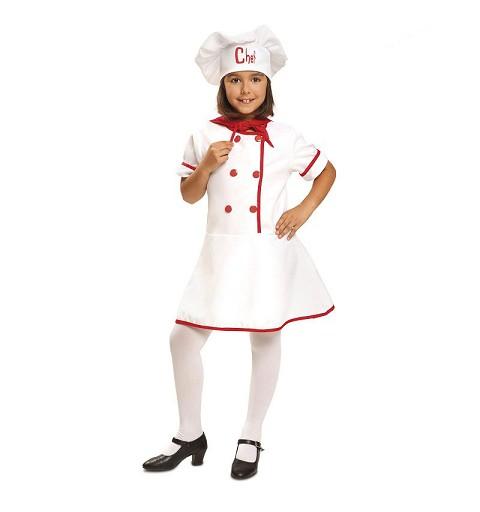 Disfraz de Chef para Niñas