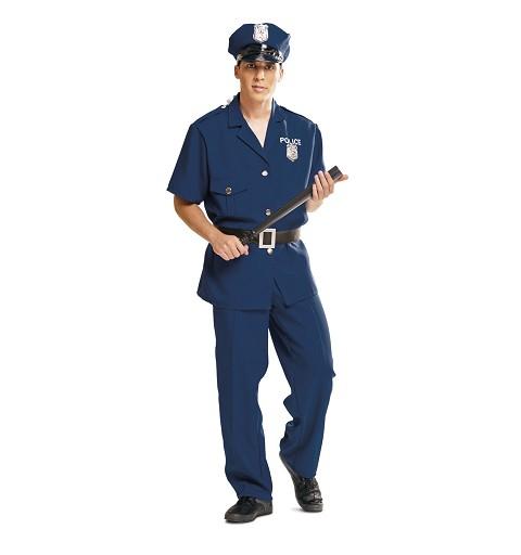 Disfraz Policía Adulto Hombre