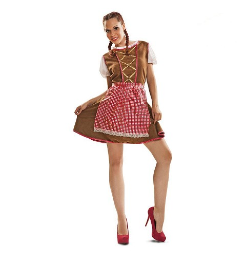 Disfraz Tirolesa Adulto Mujer