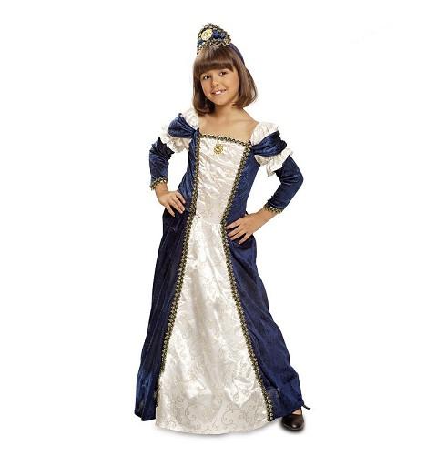 Disfraz Dama Medieval Niña...