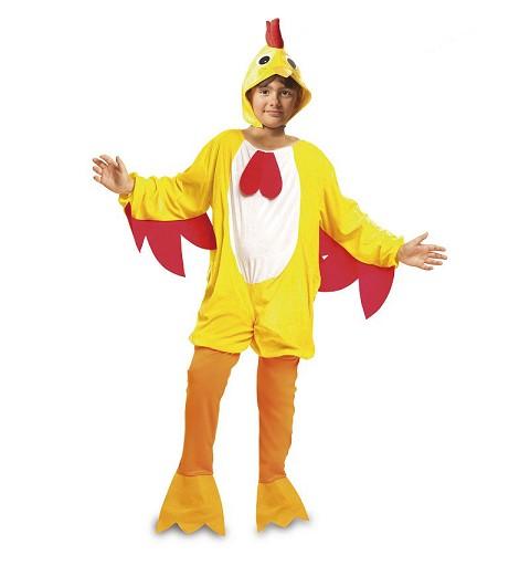 Disfraz de Gallo Amarillo...