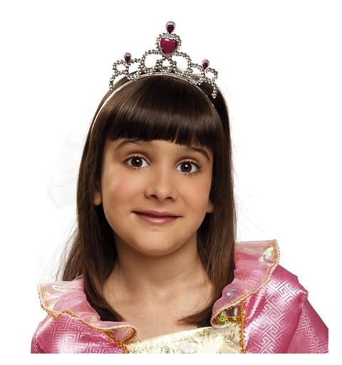 Tiara De Princesa Corazones...