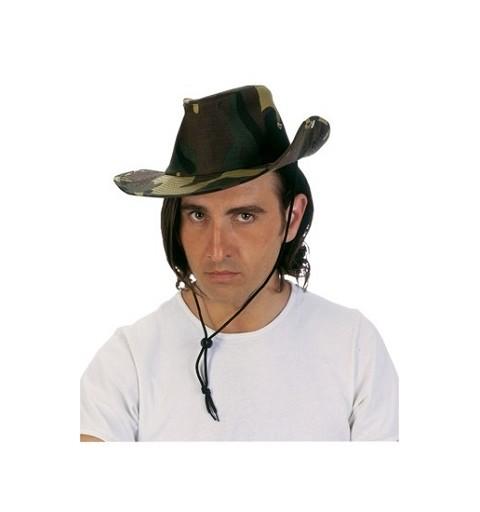 Sombrero Camuflaje Verde