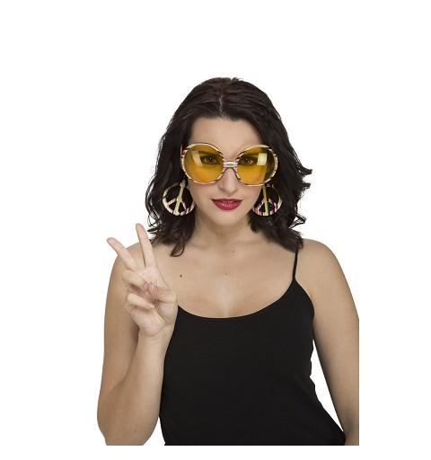 Gafas De Hippie Amarillas