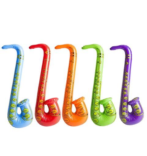 Saxofón Hinchable Clr. Surt.