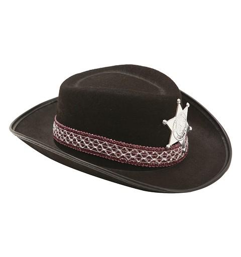 Sombrero De Vaquero Negro...