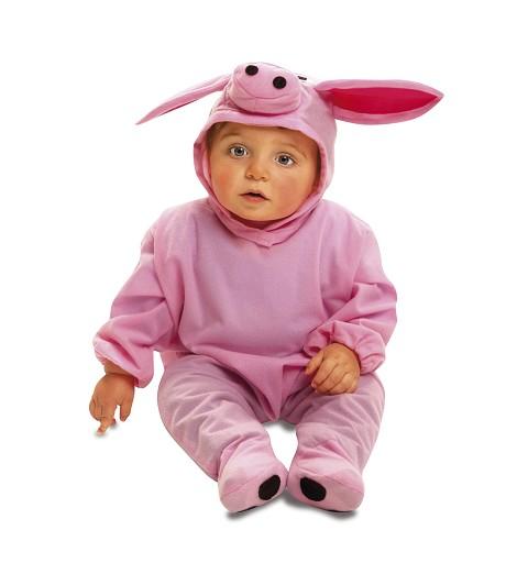 Disfraz Cerdito Rosa Bebé