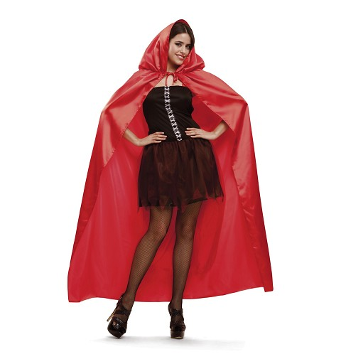 Disfraz Capa Roja Adulto