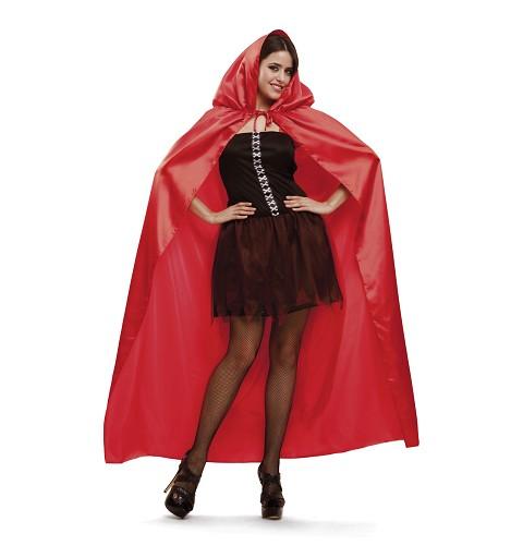 Disfraz Capa Roja Mujer