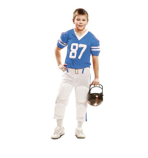 Disfraz Jugador Rugby Azul...