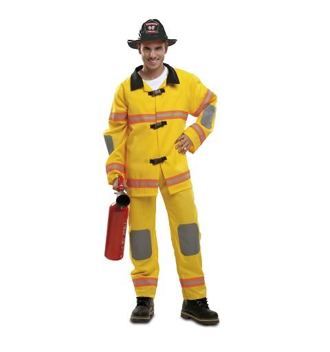 Disfraz Bombero Amarillo...